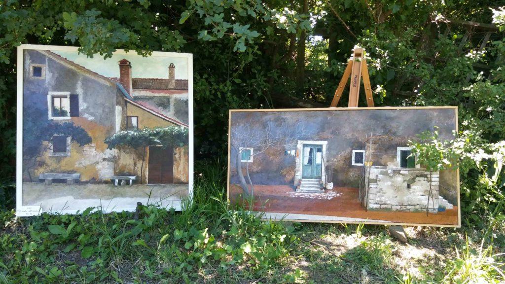Mostra di quadri nel Mondodisusanna